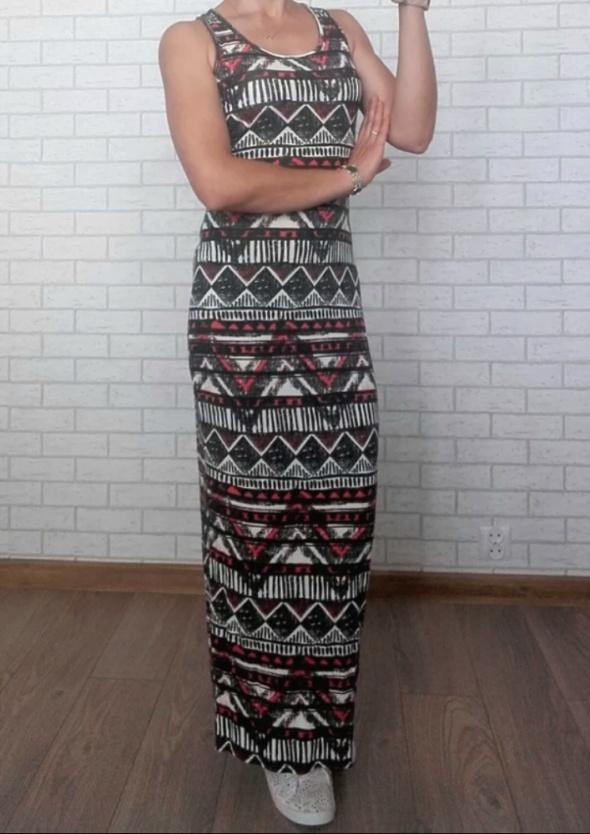 New look sukienka maxi prosta...