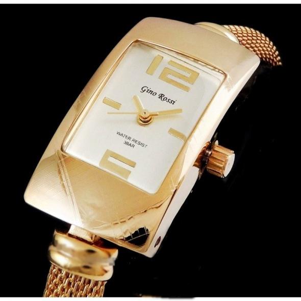 GINO ROSSI elegancki zegarek damski...