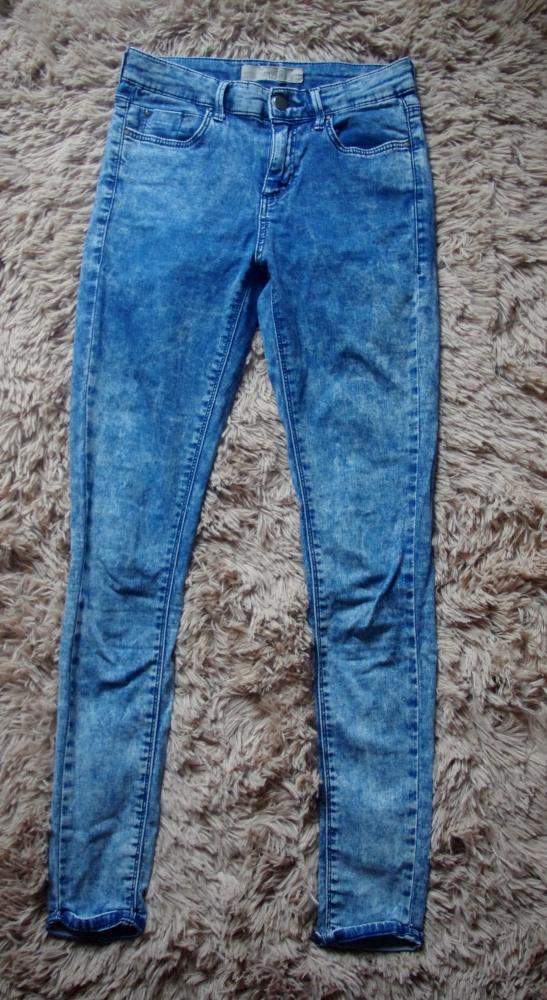 spodnie marmurki top shop