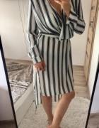 Sukienka w paski missguided