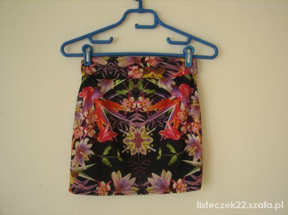 spódnica mini mega print New Look