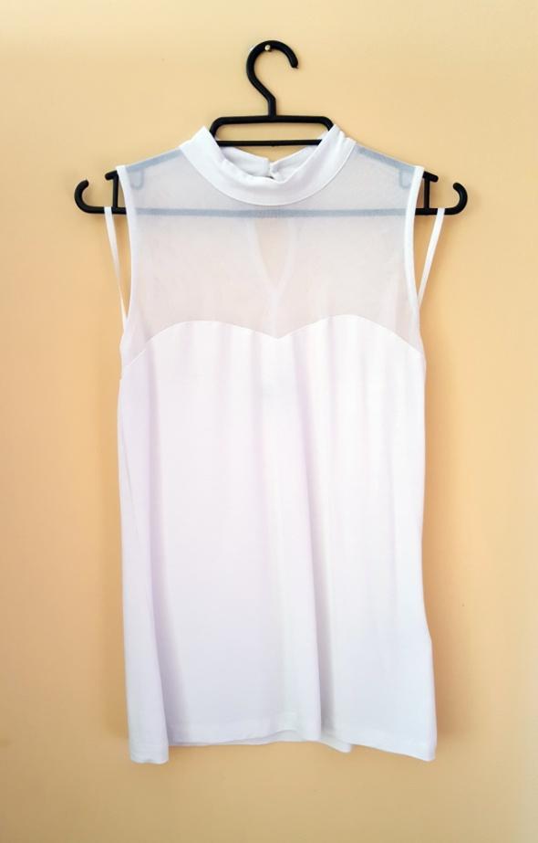 Bonprix biała bluzka...