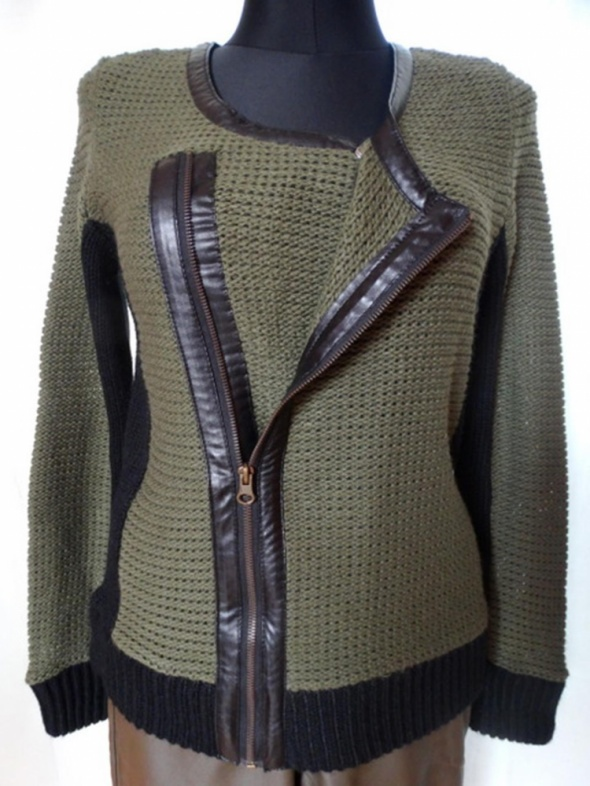 sweter ramoneska nowy RAINBOW...