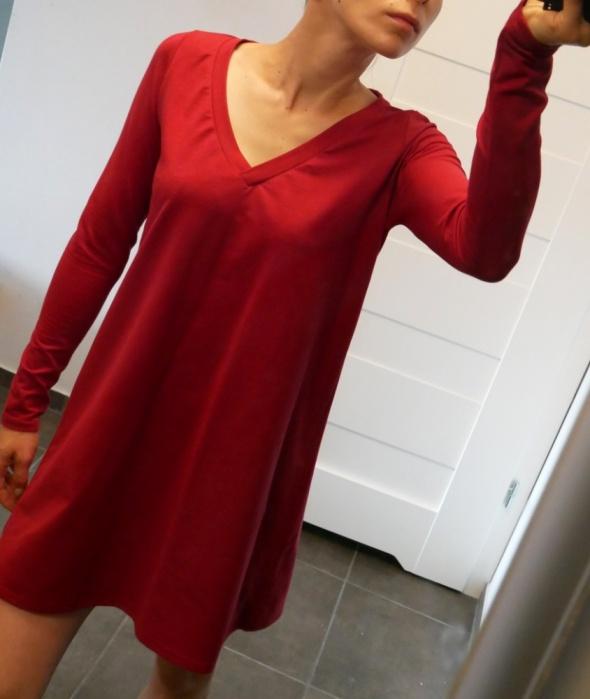 Nowa sukienka CINAMOON czerwona