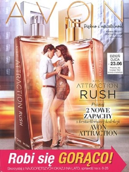 Avon Attraction Rush dla Niego 75ml...
