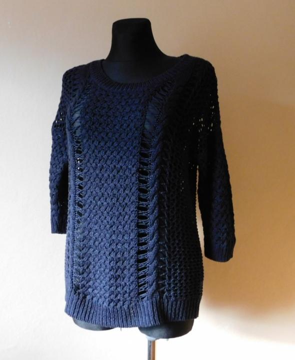 Cherokee granatowy sweter 38 40...