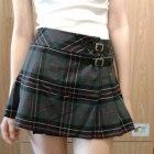 plisowana spódnica w szkocką krate rockowa s m xs