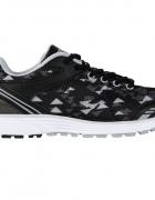 damskie buty sportowe do biegania 37 czarno białe