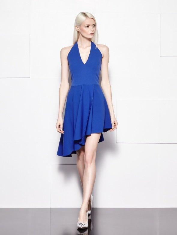 Kobaltowa sukienka...