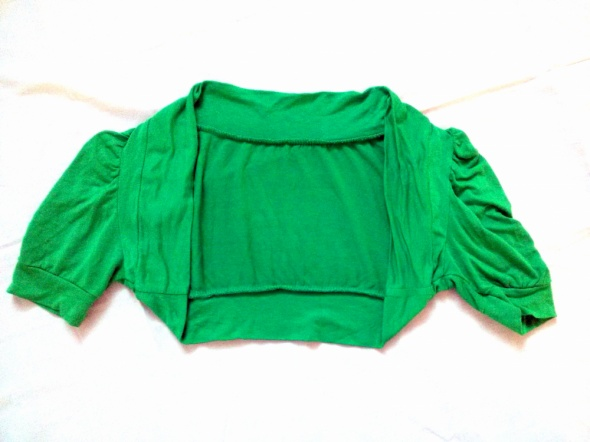 Zielone bolerko S M