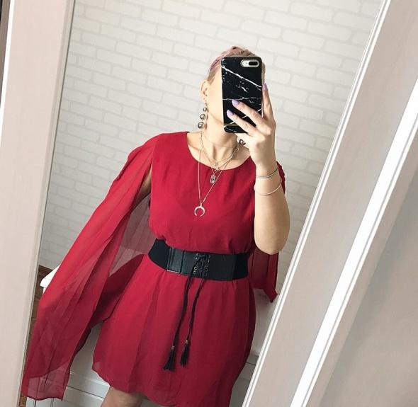 Missguided nowa z metka przepiękna czerwona sukienka
