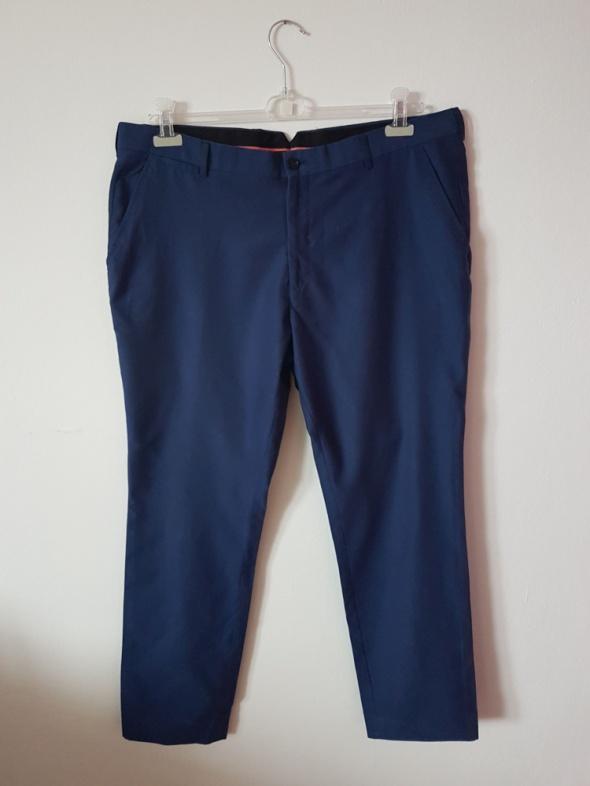 Męskie Eleganckie Spodnie Reserved 56 Slim Fit
