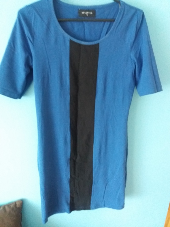 Granatowa sukienka Reserved...