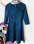 Sukienka RESERVED rozmiar 36 zamsz ekologiczny...