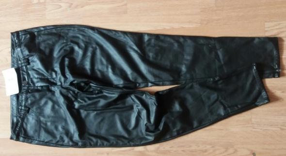 spodnie zip eko skora reserved