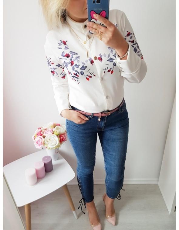 Koszula kwiaty print