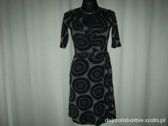 kopertowa sukienka H&M 34