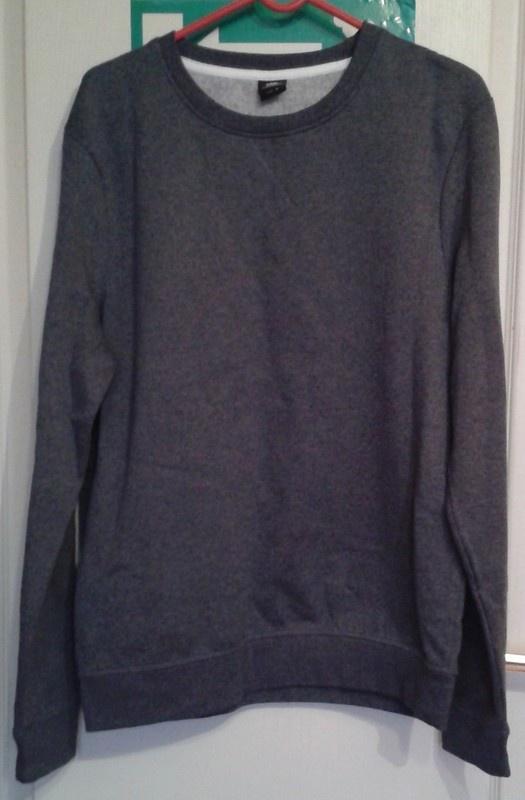 C&A Nowa popielata bluza...