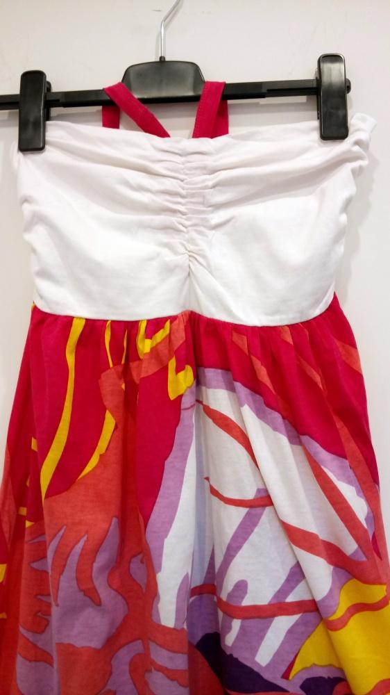 piękna kolorowa sukienka na lato L Carry...
