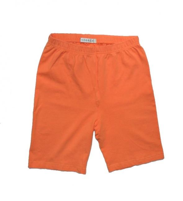 Pomarańczowe getry krótkie 140 146