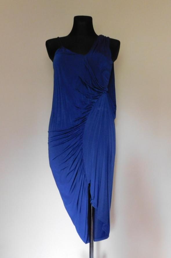 Asos niebieska sukienka 38...