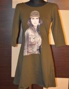 Nowa sukienka efektowne plecy nowa M