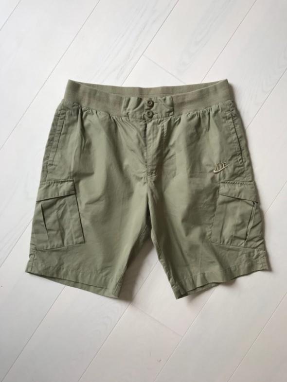 Szorty krótkie spodnie nike bojówki khaki sportowe XL