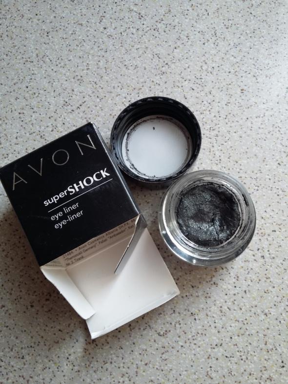 avon super shock eyeliner black metal