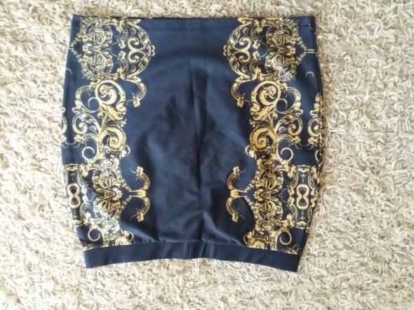 Czarno złota spódnica Bon Prix...