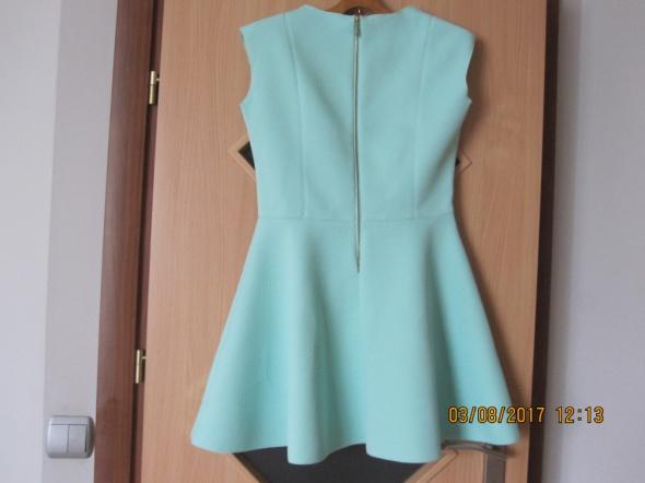 Sukienka seledynowa M L