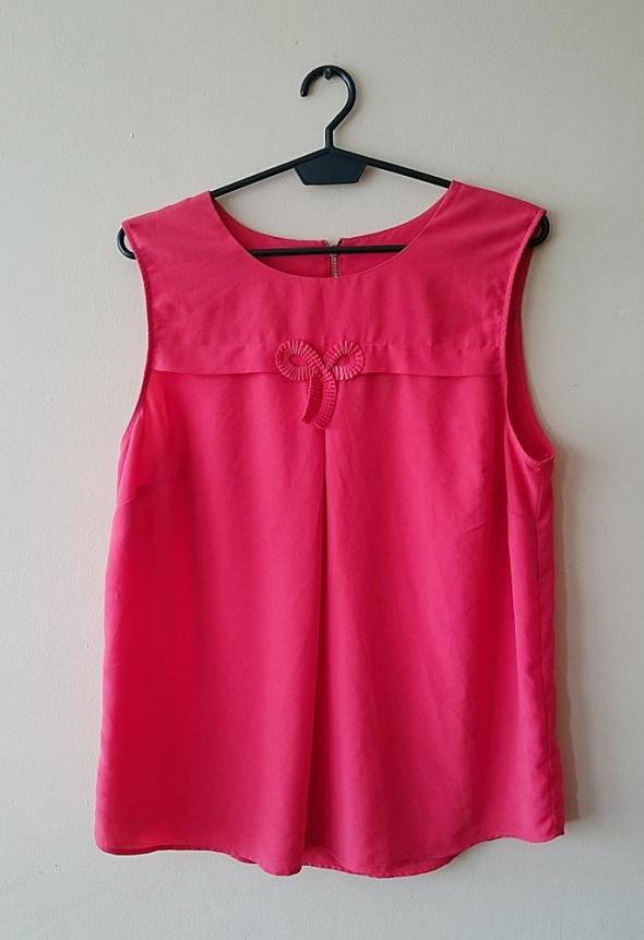 czerwona bluzka z kokardką zip gok wan...