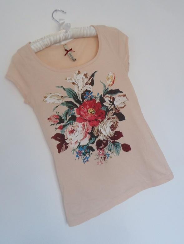 bluzka floral kwiaty Stradivsrius 36