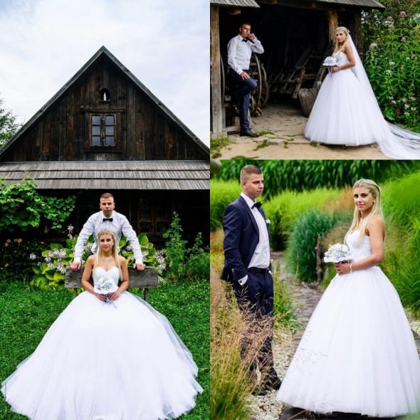 Suknie ślubne Suknia ślubna princesska