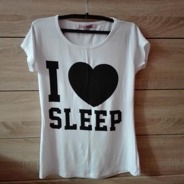 bluzka I love sleep