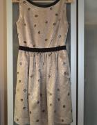 Złota sukienka 36...