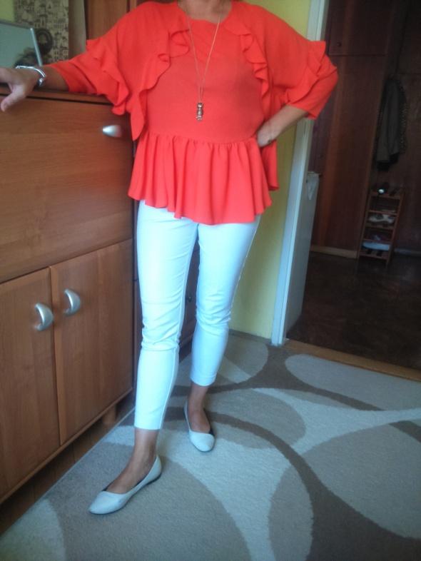 śliczna bluzka pomarańcz