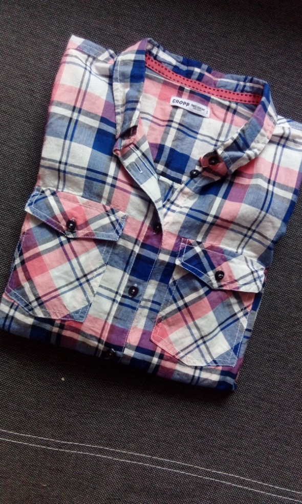 Koszula Cropp nowa krata S