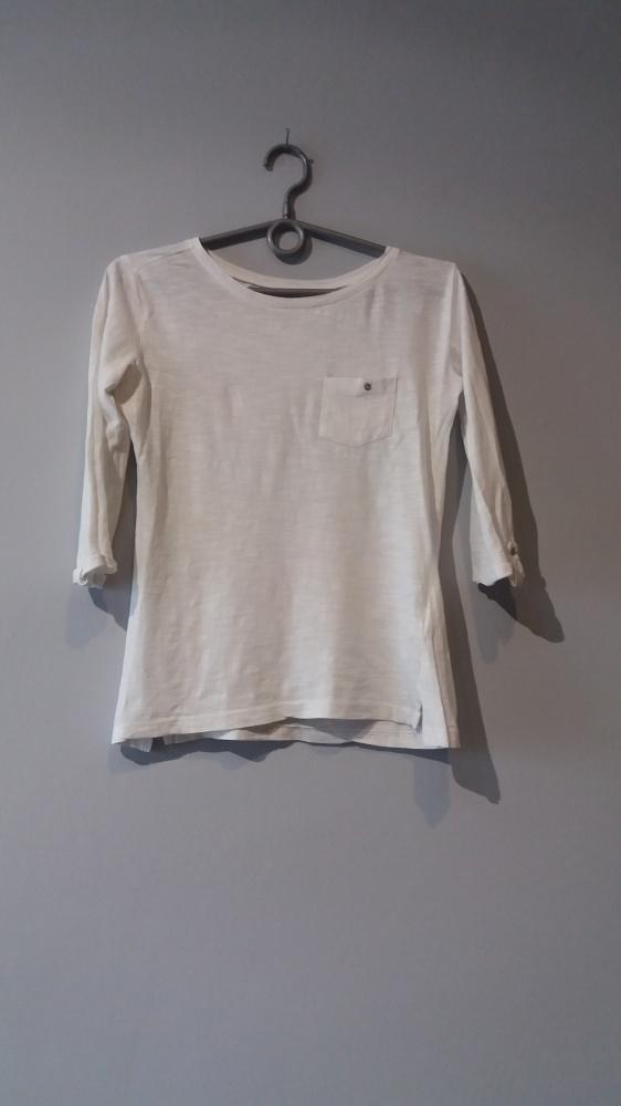 Idealna biała bluzka sinsay...