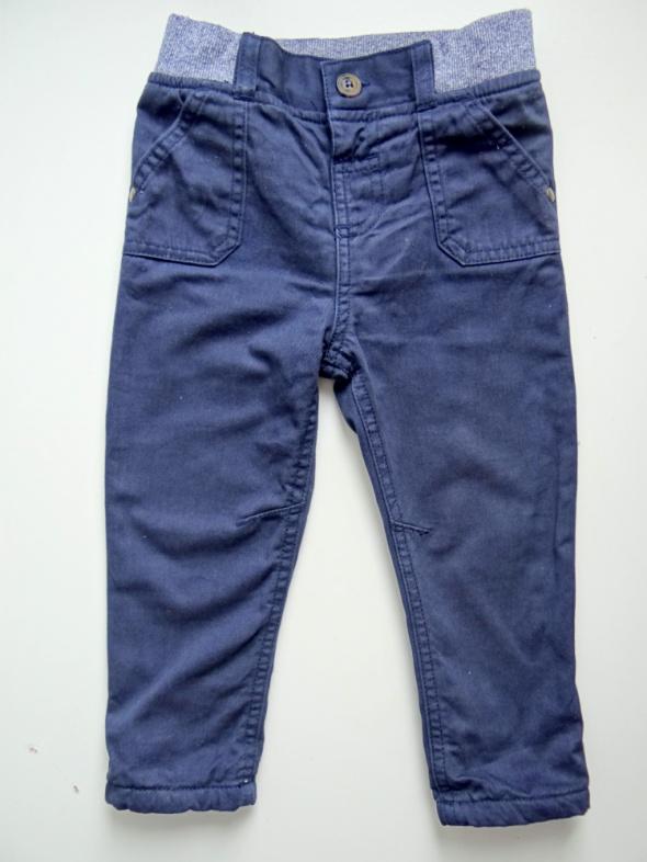 Granatowe spodnie rozmiar 86