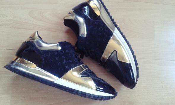 sneakersy LV skóra naturalna oryginale 40 Louis Vu...