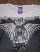 Śliczna bluzeczka BERSHKA S