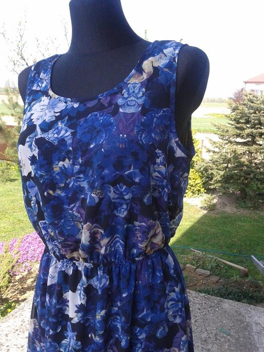 FF letnia sukienka w kwiaty