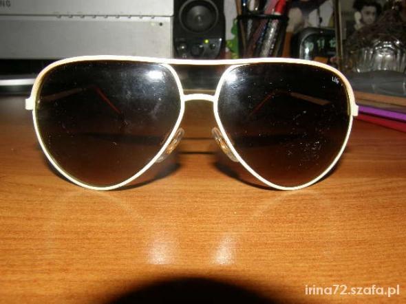 Okulary przeciwsłonecne LIFE UV400 AWIATORKI
