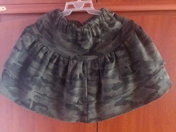 Spódnice Spódniczka spódnica dresowa dres moro ciepła