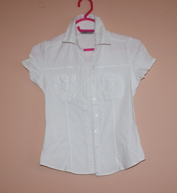 Biala okazjonalna bluzeczka R s