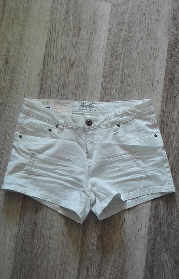 Spodenki Spodenki szorty białe nowe M L XL lato