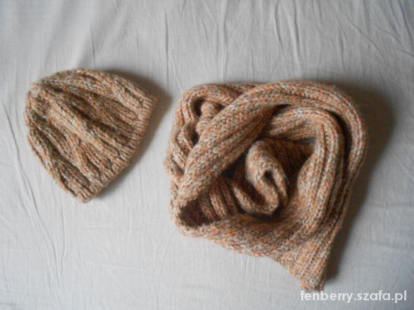 Komplet ciepły szalik i czapka