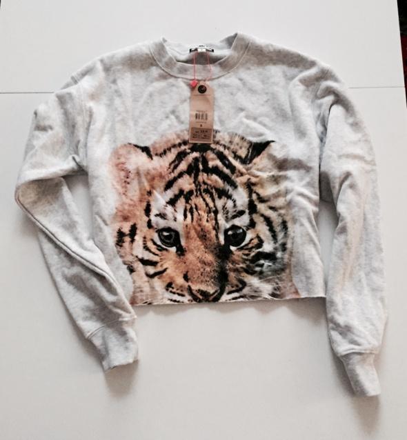 Bluza tally weijl tygrys crop