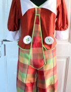 Dwuczęściowy kostium klauna przebranie strój r 3XL...