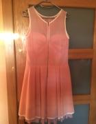 Rózowa sukienka...